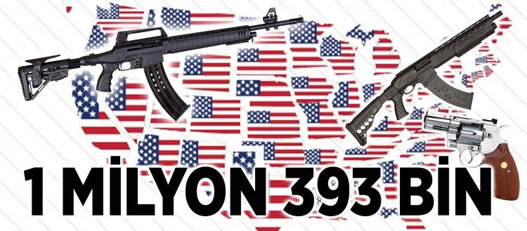 ABD'de ateşli silahlar savaşlardan daha fazla can aldı