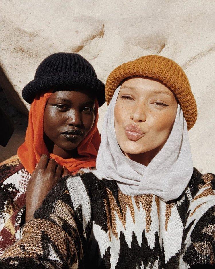 Missoni + Bella Hadid = Kapadokya!