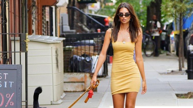 Emily Ratajkowski'nin sokak stili