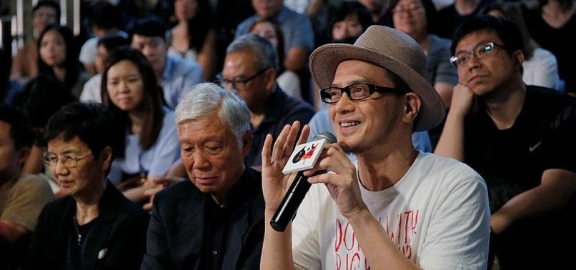 HONG KONG SINGER ANTHONY WONG SCORES HIT WITH TIANANMEN SONG