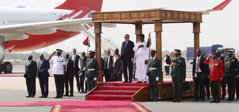 ERDOĞAN CONTINUES HIS LEADER DIPLOMACY DURING SECOND STOP ON AFRICA TRIP, GAMBIA