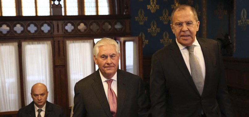 RUSSIAS LAVROV, US TILLERSON DISCUSS SYRIA OVER PHONE