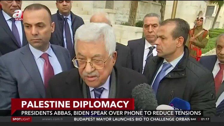 Biden talks to Abbas on latest Gaza escalation