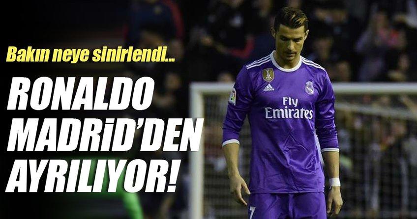 Cristiano Ronaldo Real Madrid'den ayrılıyor