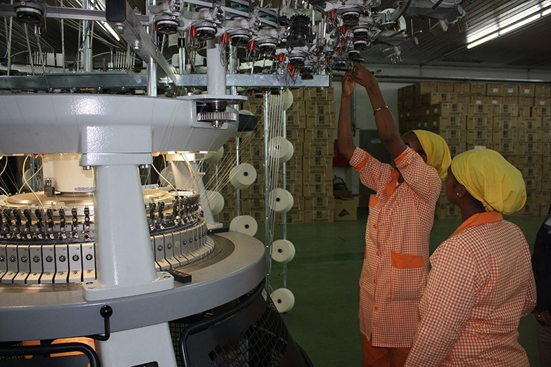 Turkish investor Ayka Addis' textile factory in Ethiopia. (File Photo)