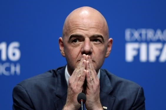 FIFA President Gianni Infantino was elected in February on a campaign promise to add eight nations for a 40-team World Cup. He then suggested 48 teams with an opening playoff round that would send 16 teams home after one game.