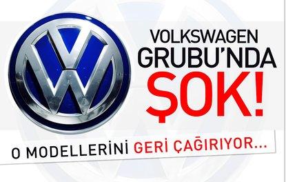 Volkswagen grubunda şok! O modellerini geri çağırıyor...