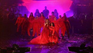 Antalyada Dünyaca Ünlü Şarkıcı Jennifer Lopez, Konser Verdi
