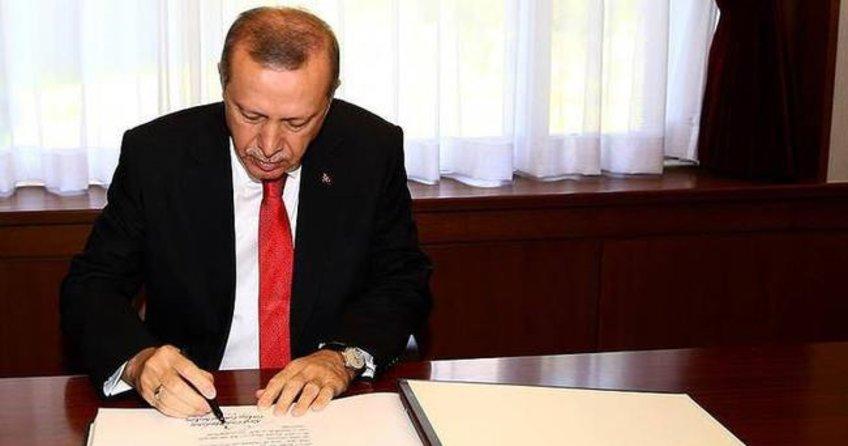 Cumhurbaşkanı Erdoğan o kanunu Başbakanlığa gönderdi