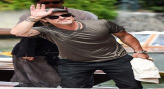 Brad Pitt Venedik Film Festivalinde!