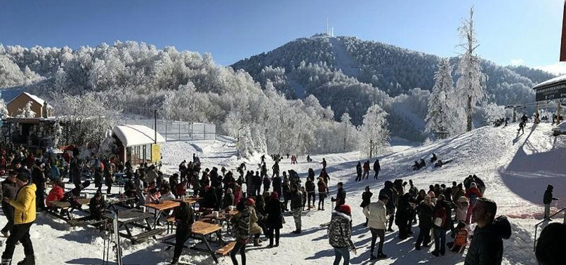 TURKEY'S KARTEPE WELCOMES THOUSANDS OF SKIERS