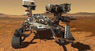 NASAnın uzay aracı Perseverance Marsa indi