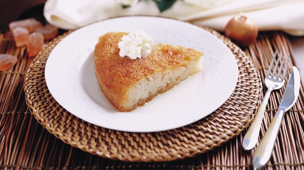 Turkish bread pudding