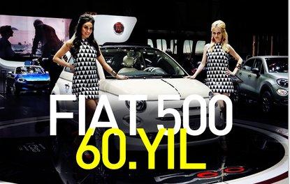 Fiat 500, 60.yaşını özel bir seri ile kutluyor.