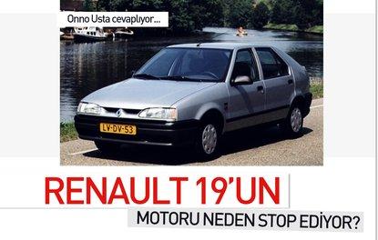 RENAULT 19'UN MOTORU NEDEN STOP EDİYOR?