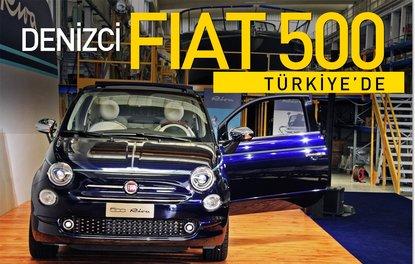 Denizci Fiat 500 Türkiye'de