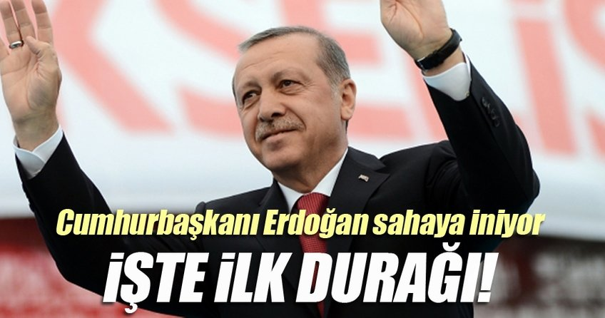 İşte Cumhurbaşkanı Erdoğan'ın ziyaret edeceği ilk il!