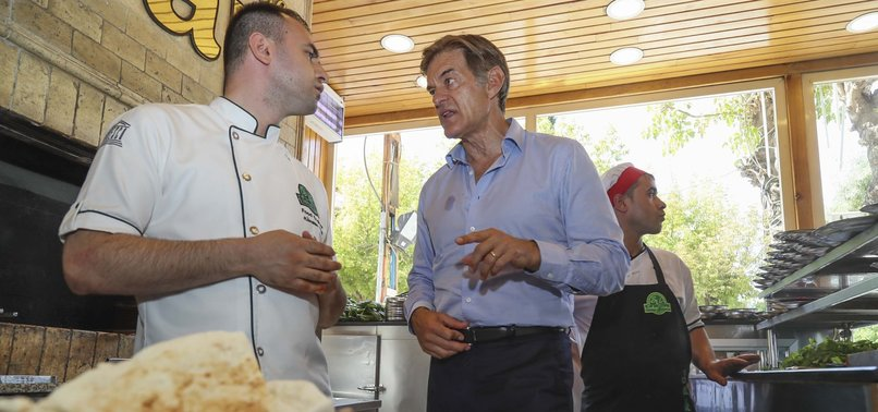 DR. OZ SUGGESTS ANATOLIAN CUISINE FOR LOW-CALORIE, RICH-TASTING MEALS
