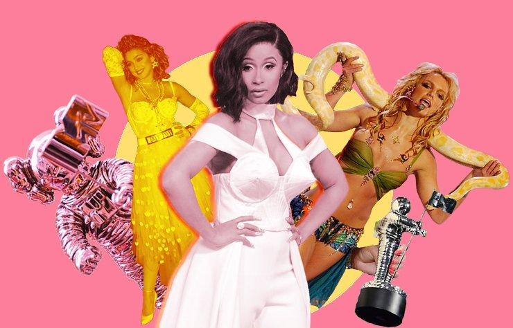 Yıllara göre VMA kırmızı halısına damga vuran isimler!