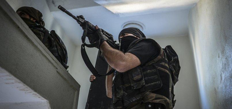 PKK TERRORIST ON TURKEY'S MOST WANTED LIST NEUTRALIZED IN OPERATIONS IN EASTERN ERZINCAN
