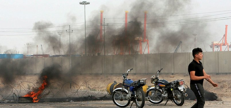 DEATH TOLL FROM IRAQS BASRA PROTESTS RISES TO 5