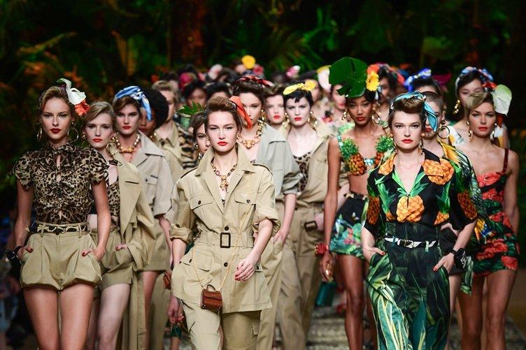 Dolce & Gabbana İlkbahar/Yaz 2020 koleksiyonu