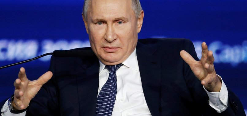 RUSSIAN LEADER PUTIN PREDICTS MORE EXITS FROM EU BY 2028