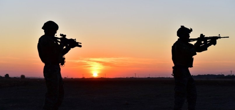 TURKEY 'NEUTRALIZES' 5 YPG/PKKTERRORISTSIN N.SYRIA