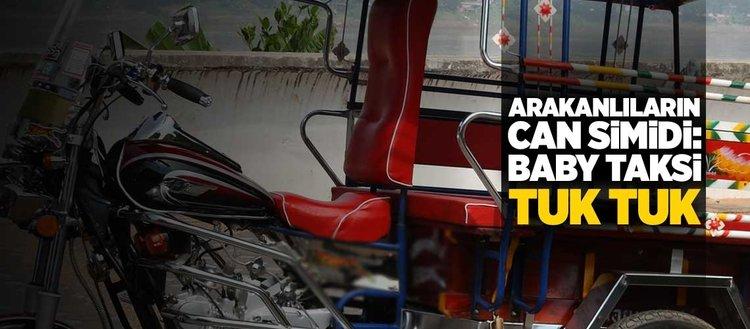 Arakanlı Müslümanların can simidi: Baby taksiler