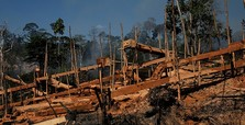 Threatened Amazon reserve suffers from illegal mining
