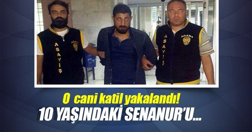 Senanur'un katili yakalandı