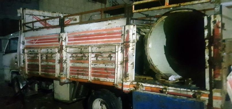 4 DAESH SUICIDE BOMBERS NEUTRALIZED ON TURKEY'S BORDER