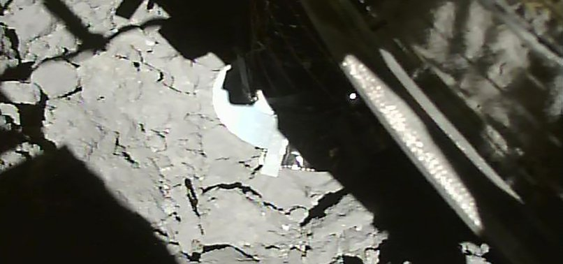 JAPANESE PROBE MAKES SUCCESSFUL TOUCH DOWN ON ASTEROID