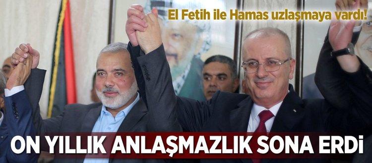 El Fetih ile Hamas uzlaşmaya vardı