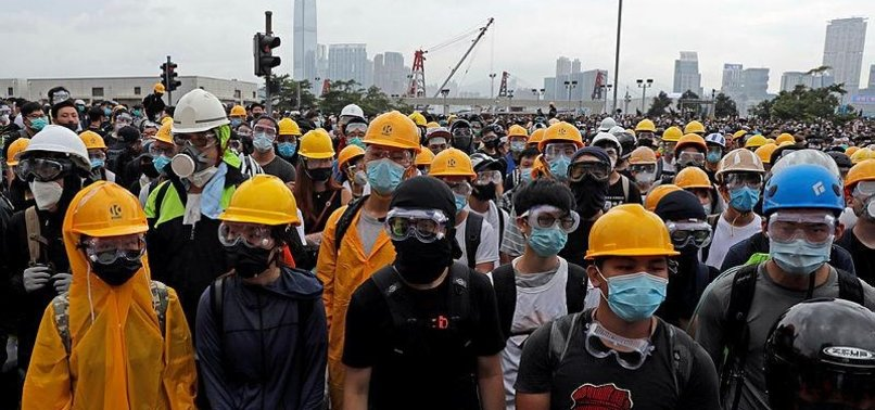 HONG KONG PROTESTERS WARY OF CHINESE SURVEILLANCE TECHNOLOGY