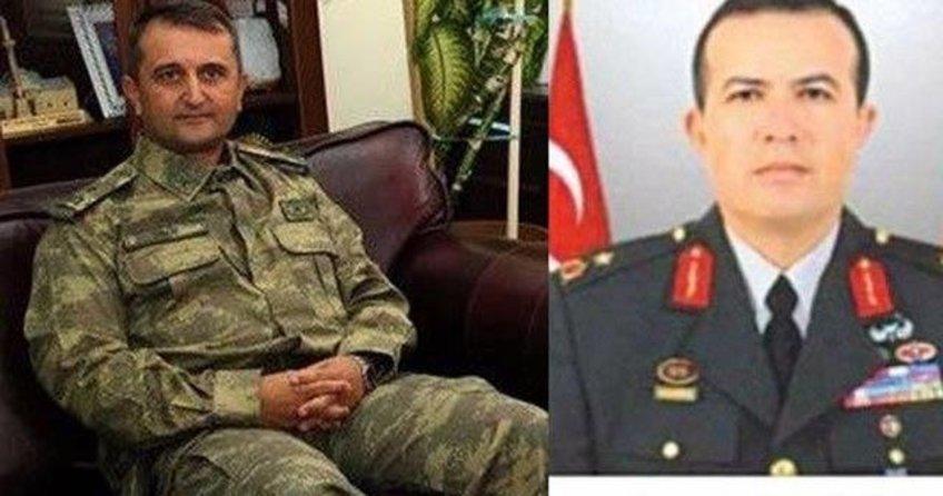 Genelkurmay Personel Plan Yönetim Daire Başkanı Tuğgeneral Mehmet Partigöç'ten almış