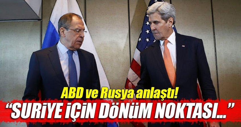 Suriye'de ateşkes ilanı