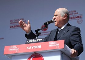 Bahçeli Kayseri'de çarpıcı açıklamalarda bulundu