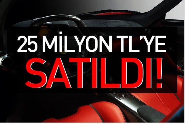25 milyon TL'ye satıldı