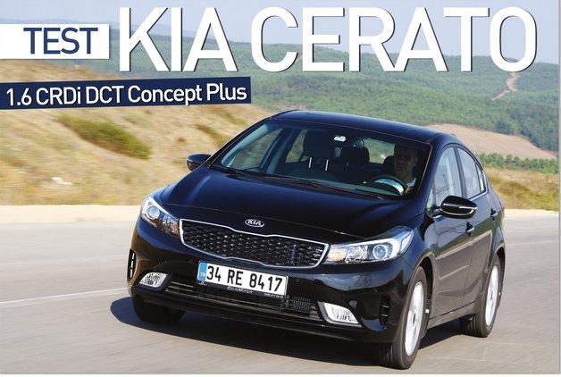 TEST · Kia Cerato 1.6 CRDi DCT Concept Plus