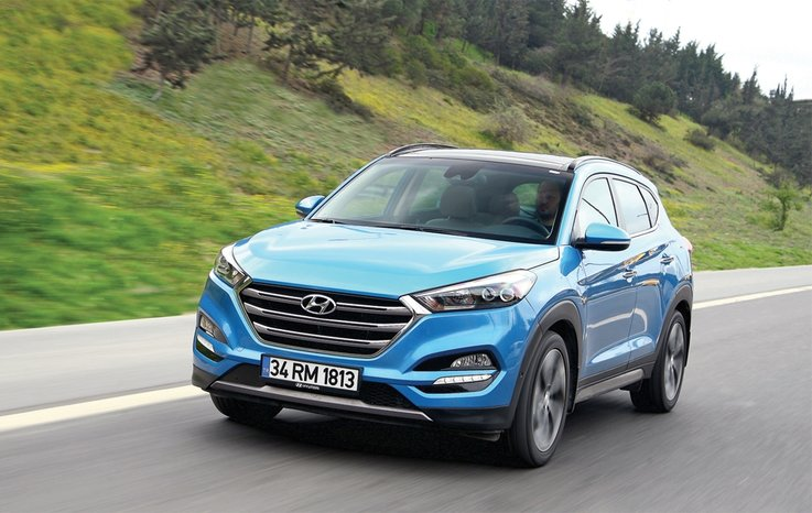 test hyundai tucson 1 6 t gdi dct 4x2 elite plus otohaber. Black Bedroom Furniture Sets. Home Design Ideas