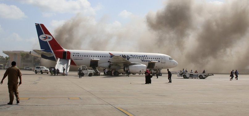 ADEN AIRPORT ATTACK CARRIED OUT BY HOUTHI REBELS