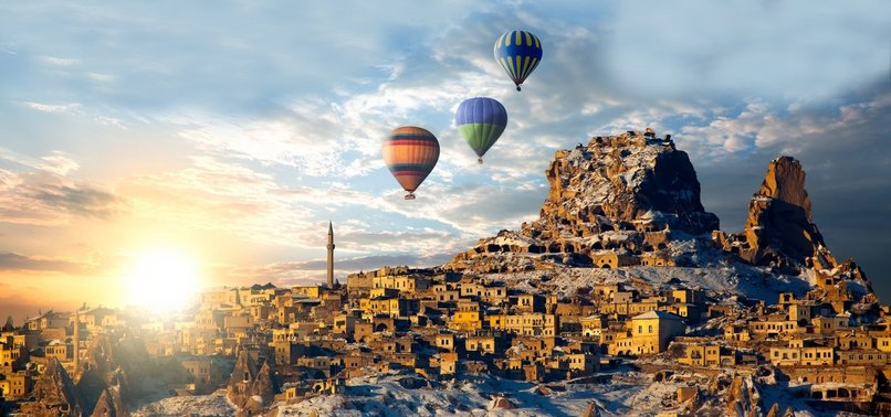 NUMBER OF TURKEY'S CAPPADOCIA VISITORS DOUBLED IN 2017