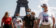 France reports 785 new coronavirus infections on Monday, from 2,288 on Friday