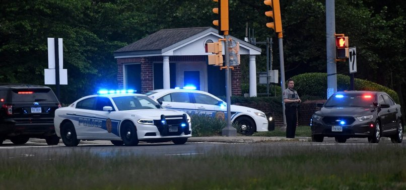 ARMED MAN SHOT BY OFFICERS OUTSIDE CIA HEADQUARTERS