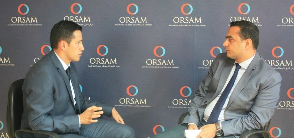 Iraq expert Bilgay Duman (L) and Daily Sabah's Ali u00dcnal