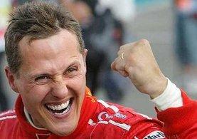 Efsane pilot Schumacher'den haber var