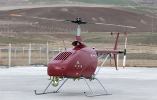 Turkish technology firm converts helicopter into unmanned aerial vehicle