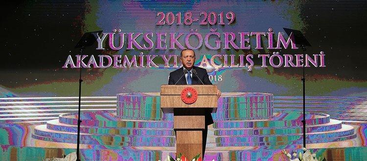 Başkan Erdoğan'dan öğrencilere burs ve kredi müjdesi