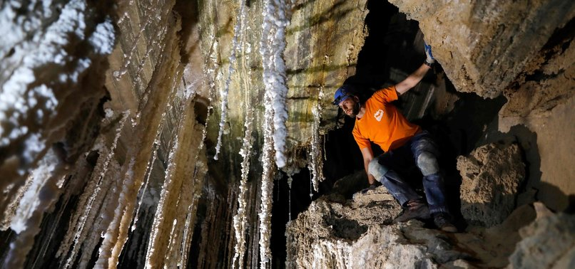 ISRAELI RESEARCHERS SAY SODOM SALT CAVE IS WORLDS LONGEST